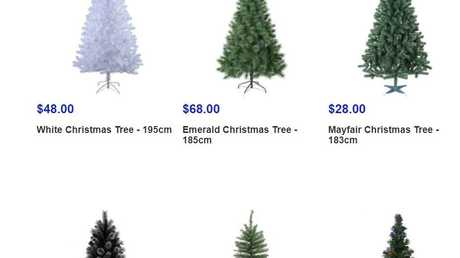 The word 'Christmas' does however appear on Big W's website.