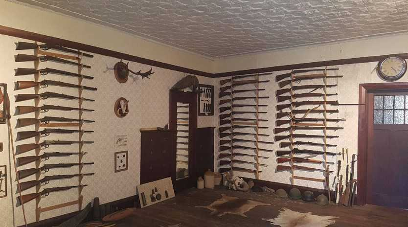 Guns seized at Tenterfield property