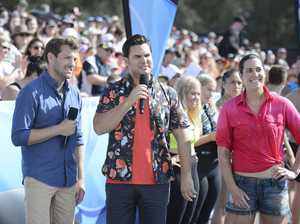 Tim Ross and Ben Mingay host the new TV series Cannonball.