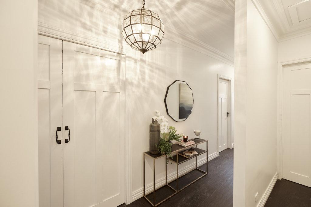 Hannah and Clint's hallways.