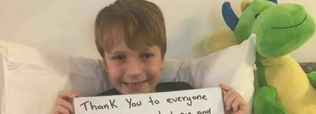 Lockyer Valley boy Kynan Meara-Fletcher lost his hearing after suffering from a severe case of the flu.