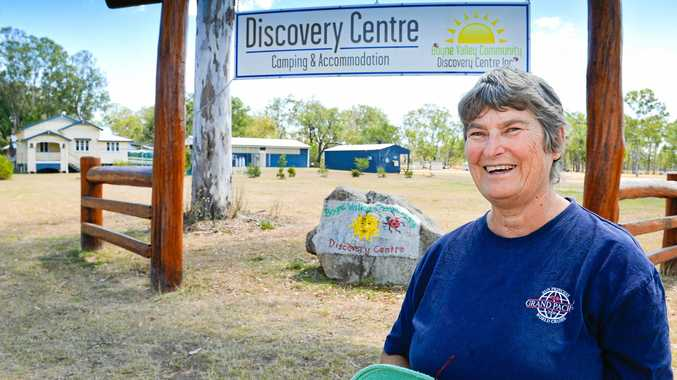 TIME TO ACT: Resident and Boyne Valley Community Discovery Centre volunteer Margaret Pengelly says the region needs more support if it is ever going to become a tourist hotspot.