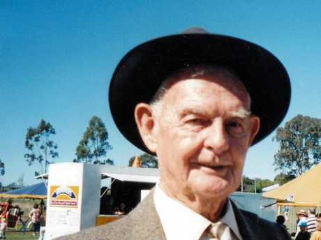 Frederick John Fink (1918- 2002) was a farmer and well-known local historian who lived most of his life in Yandina.