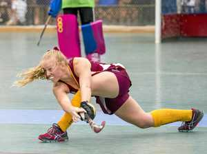 After multiple successes with Queensland, Eden Jackat has been chosen in her first Australian indoor hockey development squad.