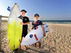 Fingal surfers and Kingscliff boardriders Guy and Dane Henry are preparing to head to Sydney to compete in the Hurley BL's Blast Off.