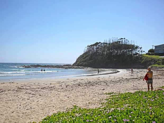 Woolgoolga Main Beach.