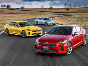 The Kia Stinger will arrive in Australian showrooms from October 1.