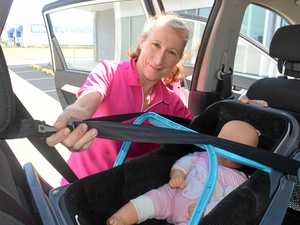 Car seat fitter at Kidsafe, Di Van de Velde knows the importance of a correctly fitted child restraint.