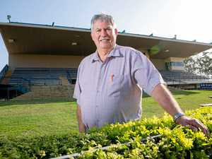 ALL IS SET: Gympie Turf Club treasurer Don Arthur is looking forward to The Gympie Times Ladies' Race Day.