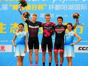 Aggressive Evers takes podium finish in Poyang