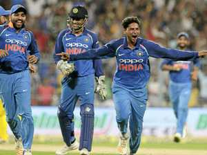 Kuldeep hat-trick sends Australia to defeat in second ODI