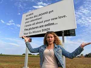Mysterious billboard message captivates Bundy