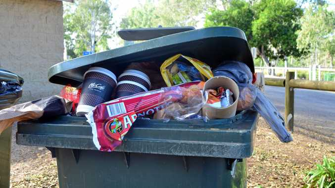 TRASH TALK: Booyal residents were turned away from the transfer station recently after it became full.