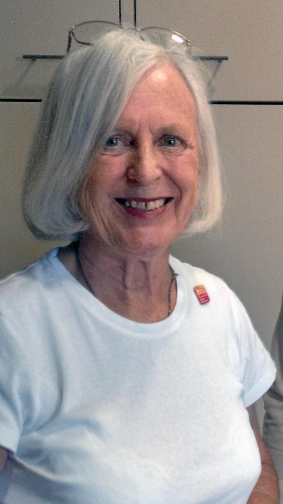 Local legend Ann Moffatt