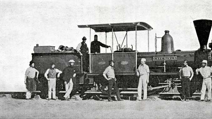 PRIDE AND JOY: The first engine named Lady Bowen.