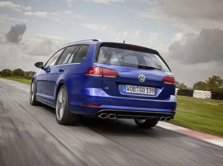 VW Golf R wagon (2017-2018 model shown). Picture: Supplied.