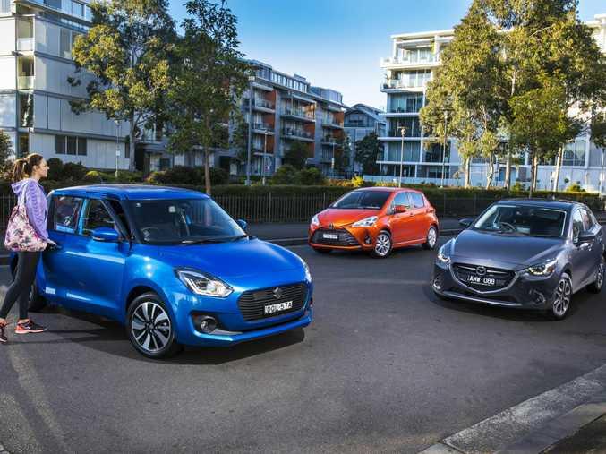 We put the Suzuki Swift, Mazda2 and Toyota Yaris to the test.