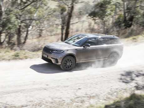 The 2017 Range Rover Velar.
