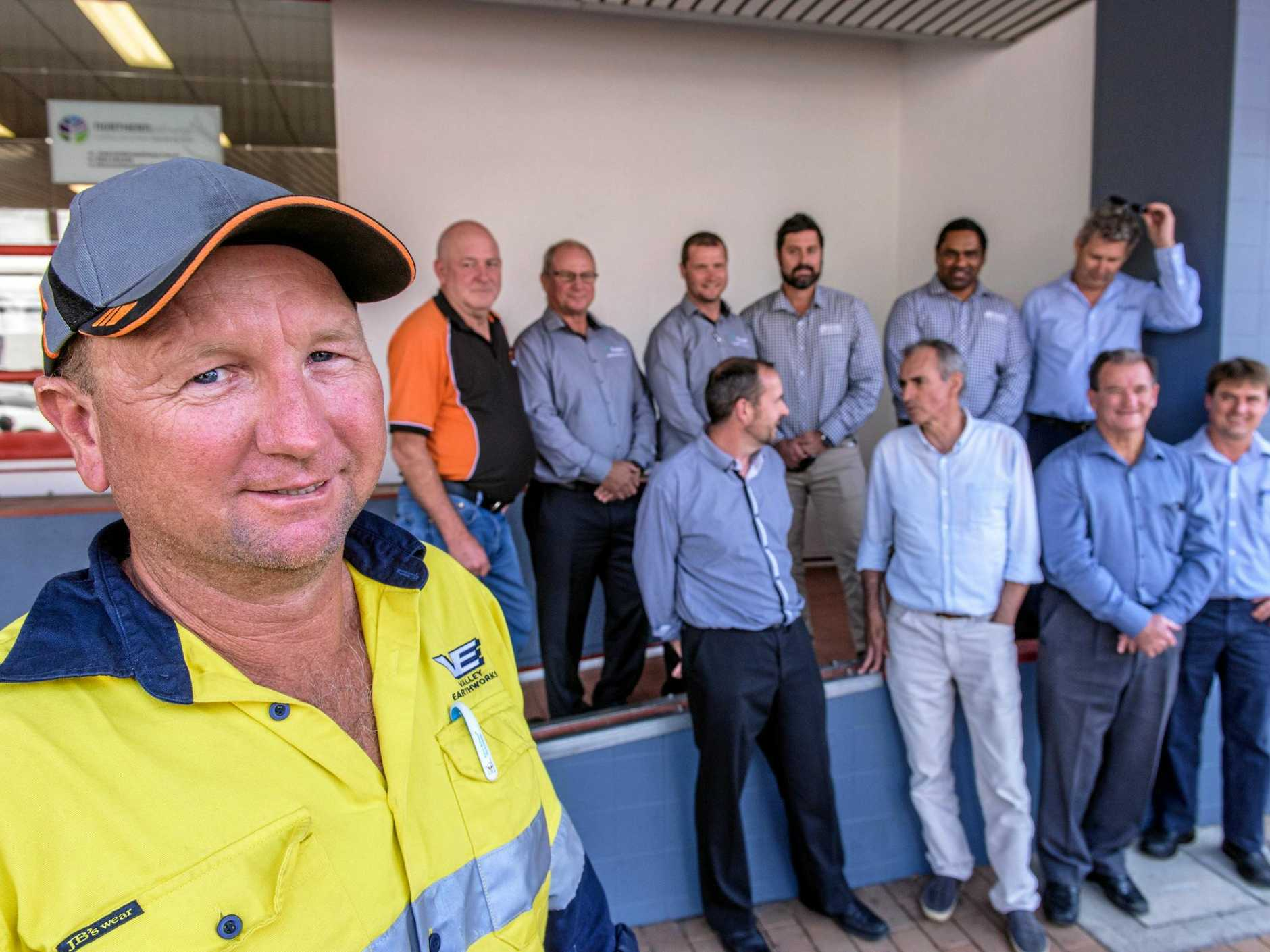 Paul Fuller - director of Valley Earthworks - local business to benefit from $20m contract for early works on new Grafton Correctional Centre.