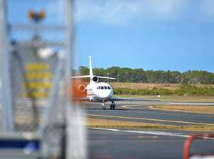 Elton John arriving in Mackay
