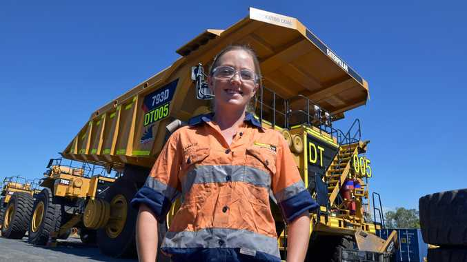 Dannielle Weston went from bank teller to the face of Hasting Deering's apprenticeship program in 2016 after completing her four-year diesel fitting apprenticeship.
