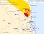 Large hail, heavy rain for parts of Sunshine Coast