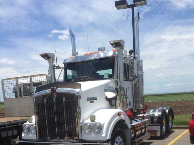 STOLEN: The Kenworth T401 was taken earlier this month.