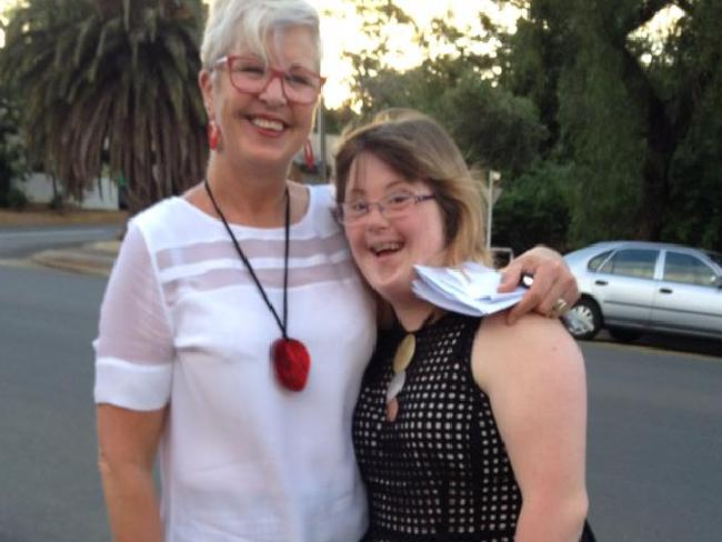 Shea MacDonaugh and her mother Fran are fighting the AEC's decision. Picture: SuppliedSource:Supplied