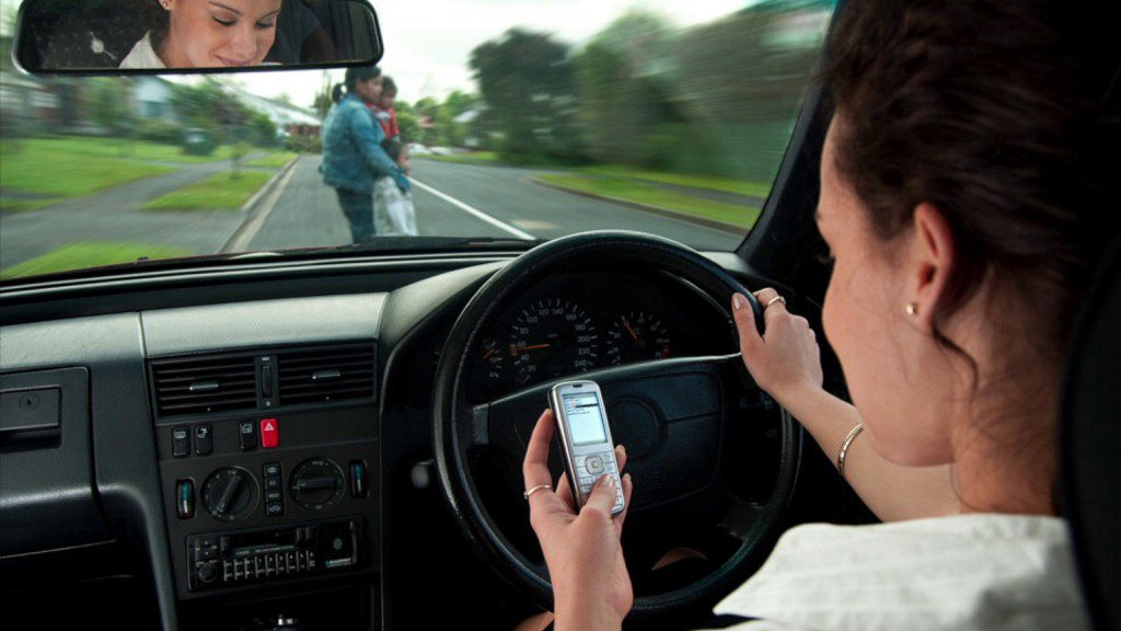 The top 10 worst regions for mobile phone driving offences have been revealed.