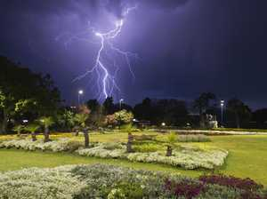 IN PICTURES: Amazing scenes as storm lights up Toowoomba sky
