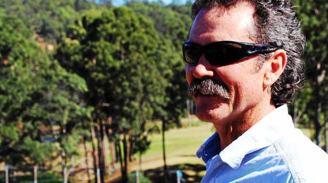LISTENING TO CHEFS: Farmer Mark Ormond at the Ogilvie Group's Maravista Farm in the Noosa hinterland.