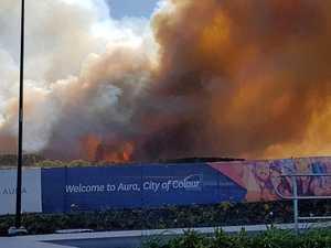 Coast goes on high fire alert