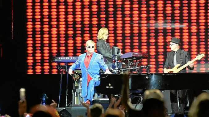 Elton John at BBPrint Stadium on September 22, 2017