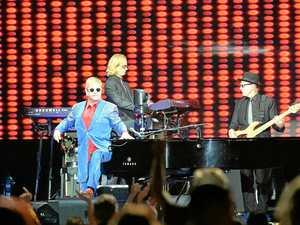 Elton John in Mackay