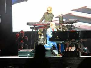Elton John 'just dance' in Mackay
