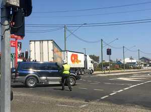 Delays around highway intersection in Warwick
