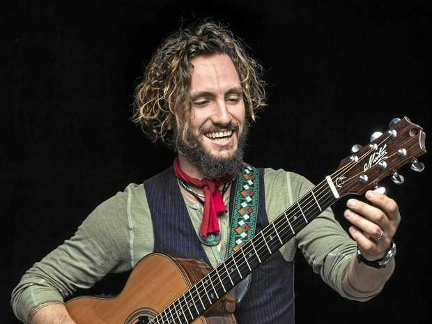 SOMETHING TO SAY: John Butler is the lead singer of the band John Butler Trio but is also on the Woodford Folk Festival Speakers Programme for 2017-18.