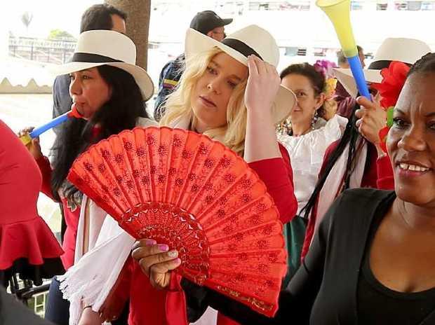 El Buen Pastor Prison Beauty Pageant, Bogata Colombia. Picture: Nathan Edwards