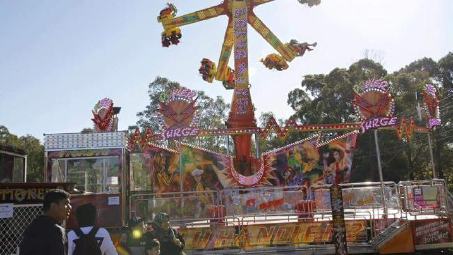 The Eid festival at Progress Park in Auburn on September 9 was the site of the alleged assault.Source:Supplied