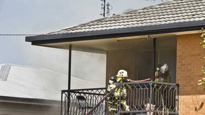 House fire in Buckland St Harristown. Sunday, 24th Sep, 2017.