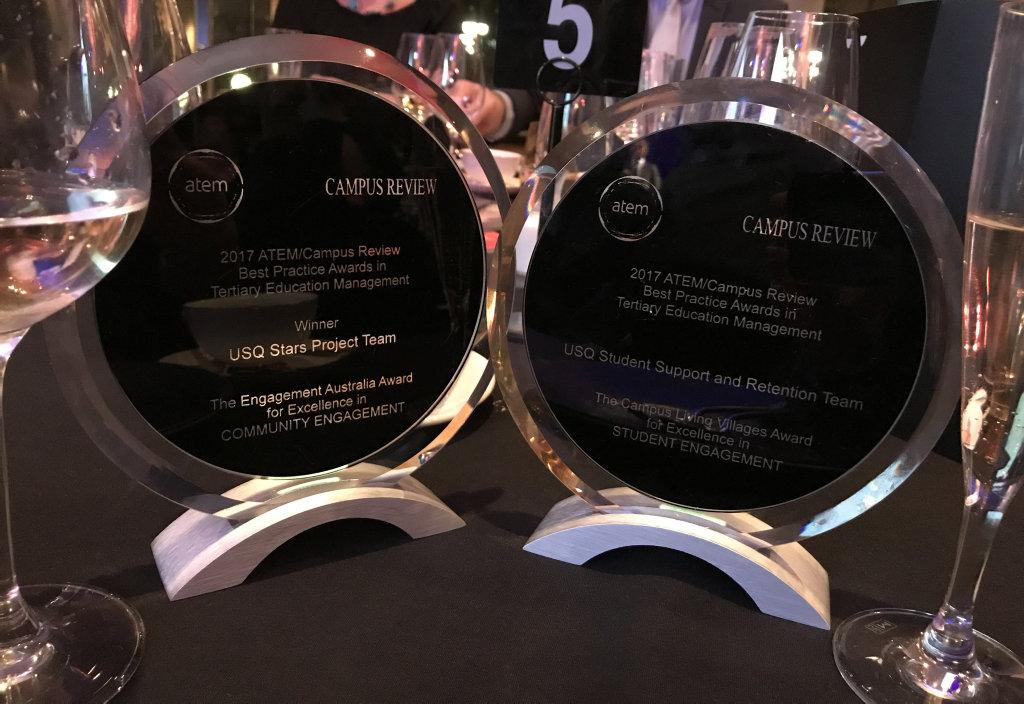 USQ's ATEM awards.