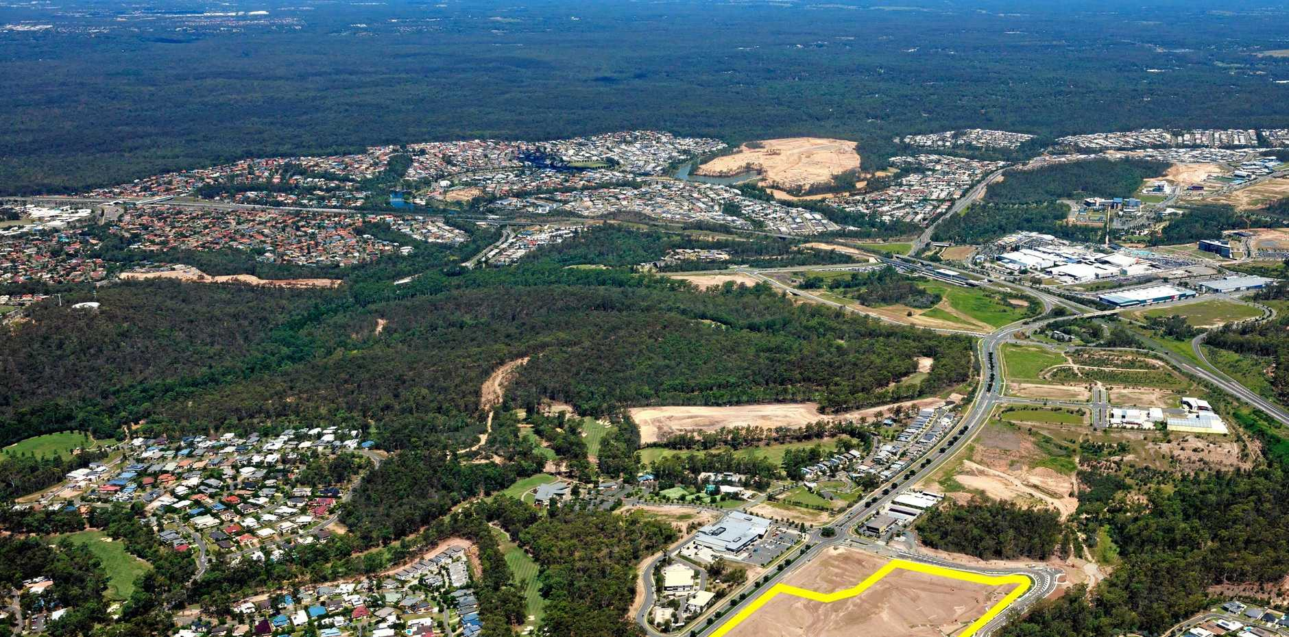 GONE: A significant residential development site at Augustine Heights has sold for more than $8.5 million.