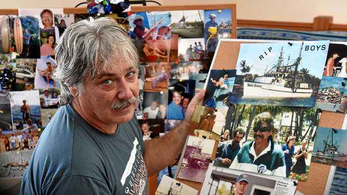 FOND MEMORIES: Tony Cowderoy shares his memories of missing fisherman and mate Grant Sainty, whom he worked with for more than a decade.