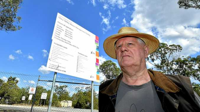UNHAPPY: Many residents like Roger Hogg are unhappy with changes to hours and cost being introduced at Gympie's dumps.