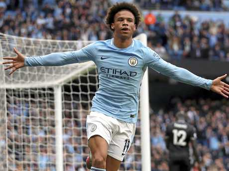 Leroy Sane has been in top form. (Nick Potts/PA  via AP)