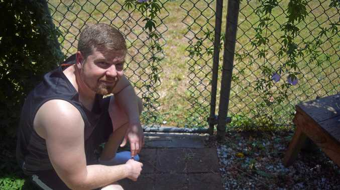 Joel Blucher was at home playing the Xbox when someone broke through his back fence, went into his kitchen and stole his car keys.