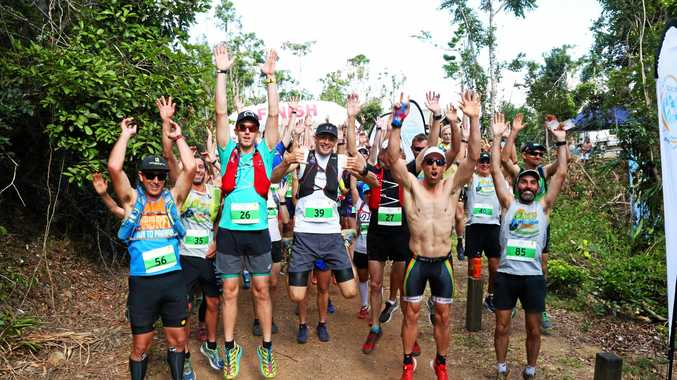 The 2017 Run the Great Whitsunday Trail gets underway.