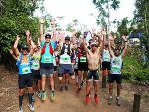 Survival of the fittest in 'brutal' Whitsunday trail run