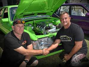 Fathers killed in speedway accident honoured at car show