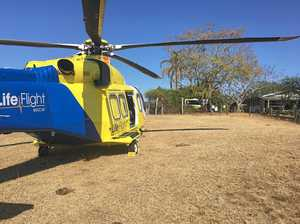 Helicopter called to hinterland crash rescue
